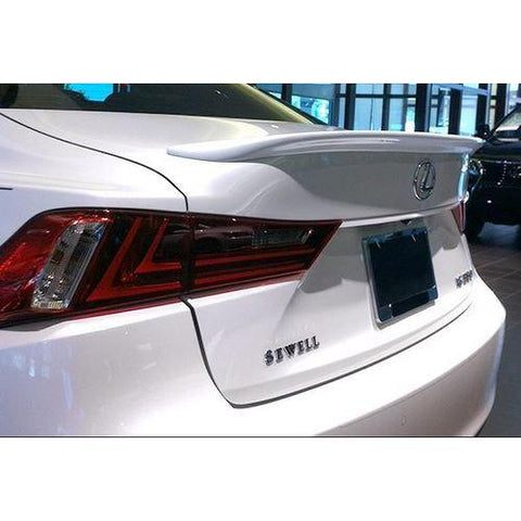 Unpainted 2014-2016 Lexus IS250 IS350 Spoiler Factory Style -  Small
