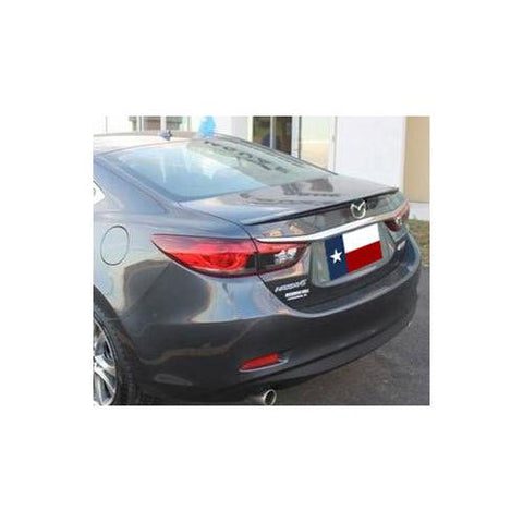Unpainted 2014-2015 Mazda 6 Spoiler Factory Lip Style
