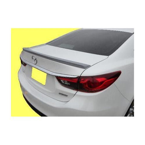 Painted 2014-2015 Mazda 6 Spoiler Custom Lip Style