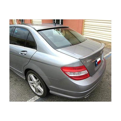 Painted 2008-2014 Mercedes C Class Roof Spoiler Sedan
