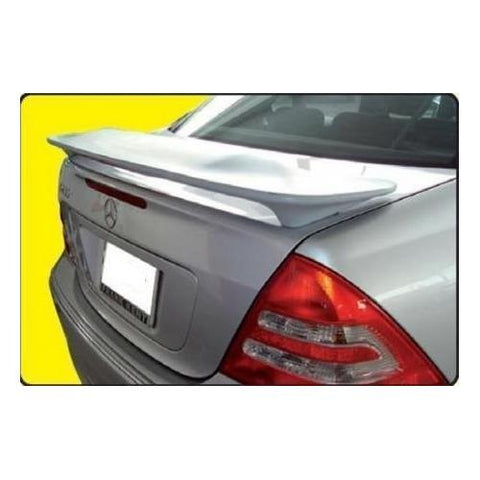 Painted 2001-2007 Mercedes C Class Spoiler Custom Style