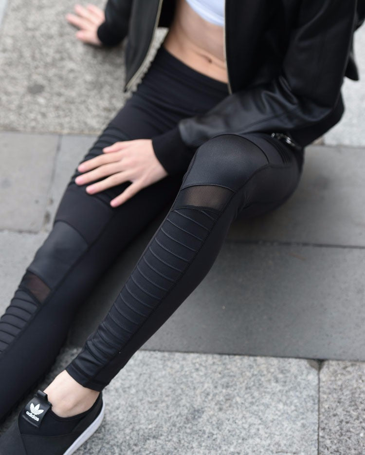 """Essence"" Mesh Compression Leggings"