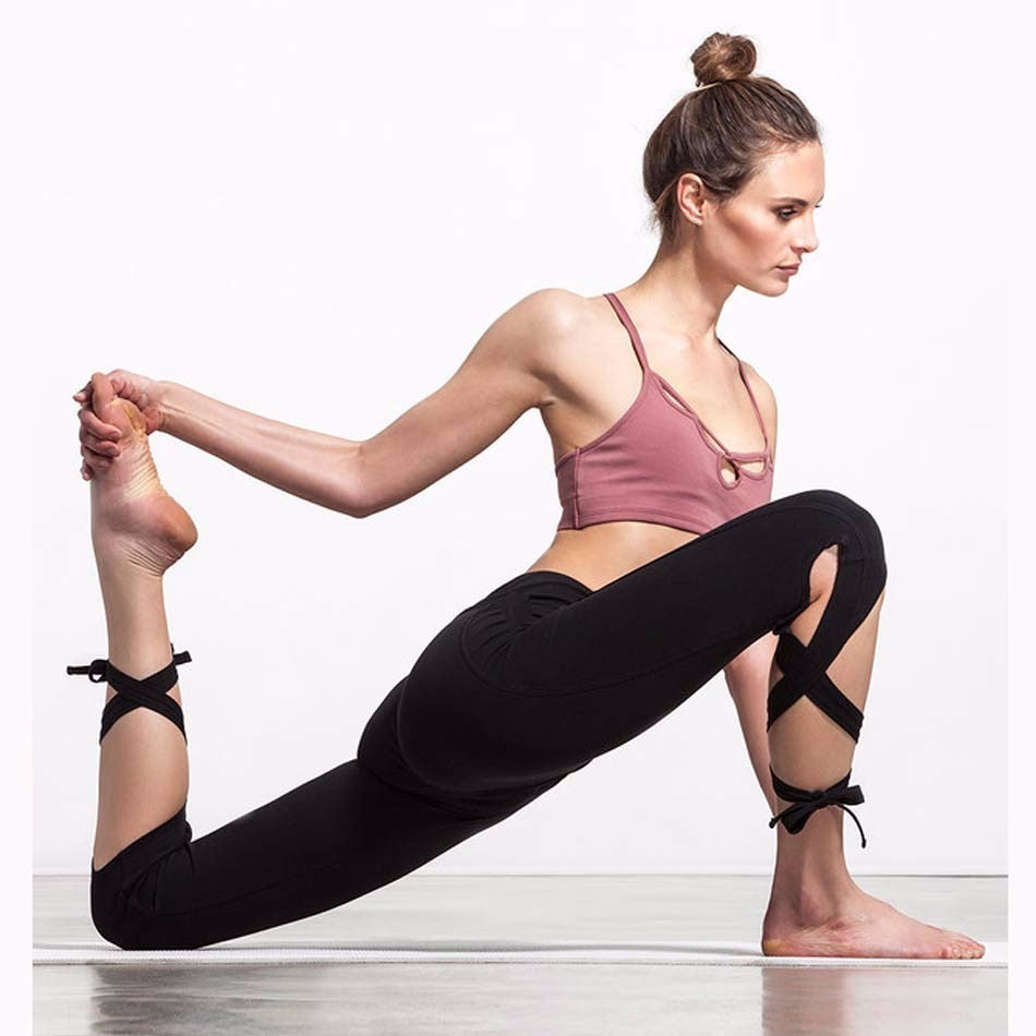 """Essence"" Knotted Athletic Leggings"