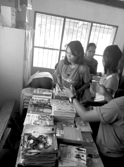 EDUCATION: Building Libraries In Rural Philippines