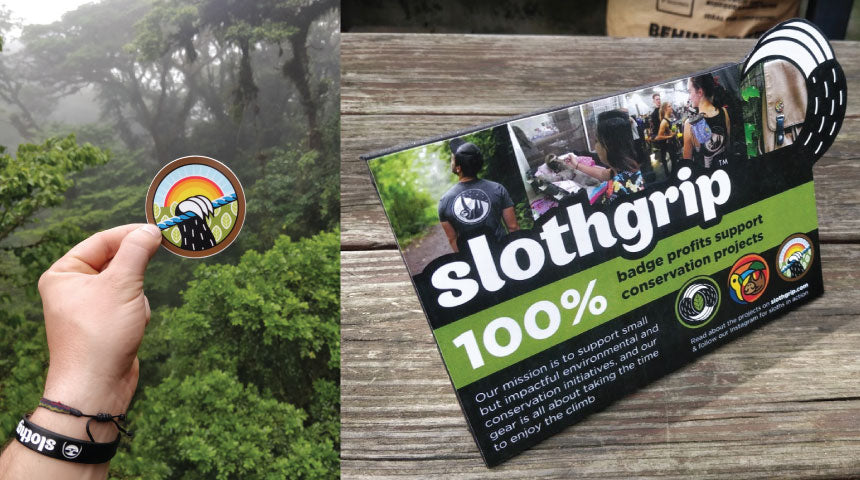Slothgrip Project Badges