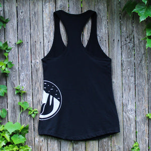 slothgrip hang happy racerback tank night rear