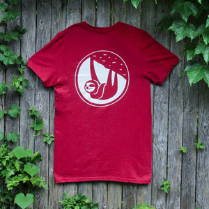 slothgrip hang happy tee - rear