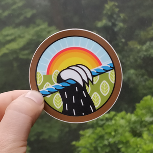 Slothgrip Sloth Speedways Sticker