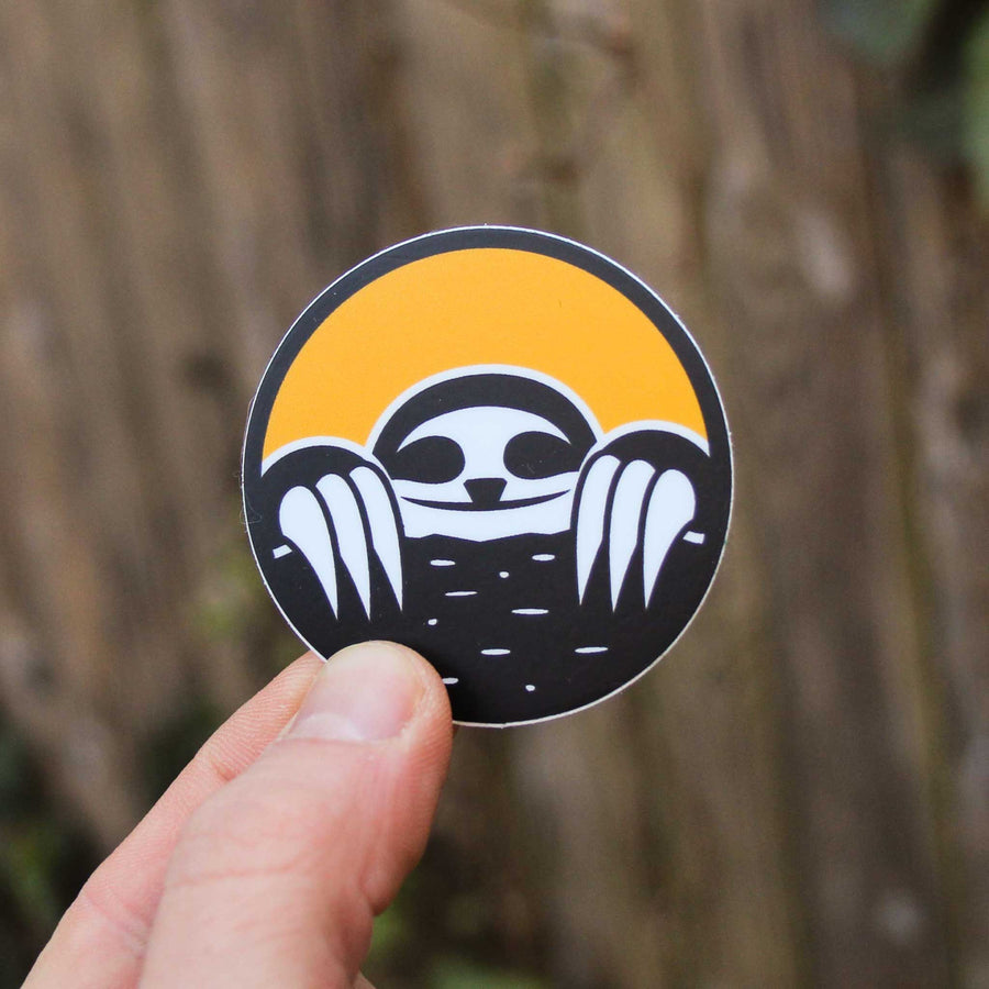 Slothgrip Top Out Sticker