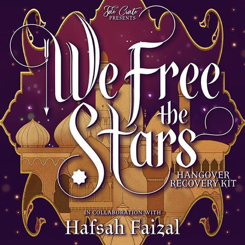 We Free the Stars Hangover Recovery Kit in collaboration with Hafsah Faizal