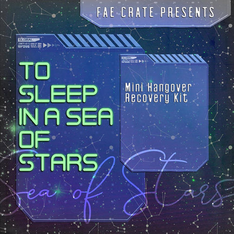 To Sleep in a Sea of Stars Mini Hangover Recovery Kit