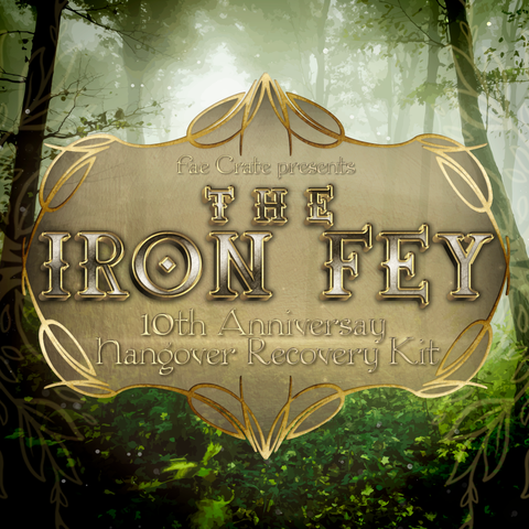 Iron Fey 10th Anniversary Hangover Recovery Kit
