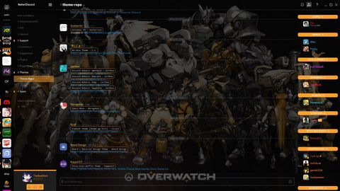 Overwatch a Theme by TheRealMatt#3517 - BetterDocs