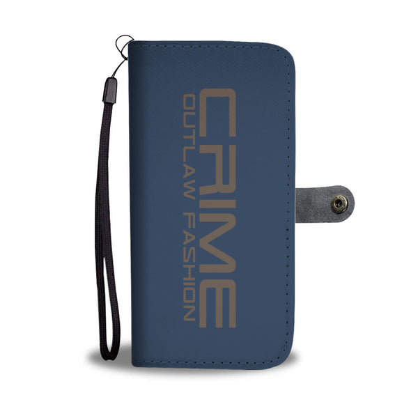 Crime Outlaw Fashion Awesome Wallet Case - hustleport