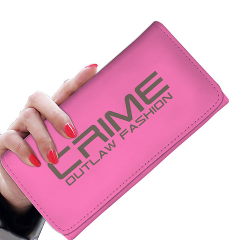 Crime Outlaw Fashion Awesome Women's Wallet - hustleport