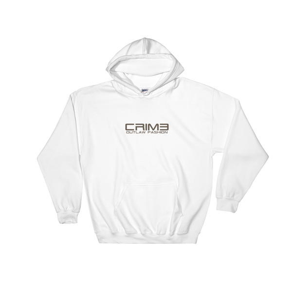 Crime Outlaw Fashion Hooded Sweatshirt - hustleport