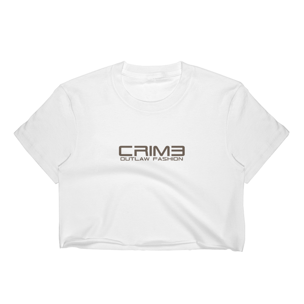 Crime Outlaw Fashion Women's Crop Top - hustleport