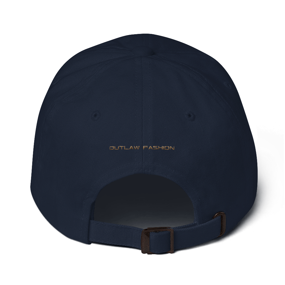 Crime Outlaw Fashion Dad hat 3d puff - hustleport