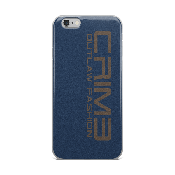 Crime Outlaw Fashion iPhone Case - hustleport