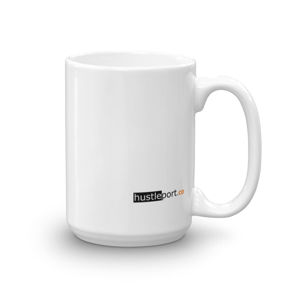 """A Smooth Sea Never Made A Skillful Sailor"" Motivational Mug - hustleport"