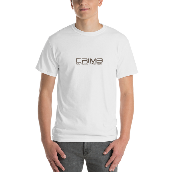 Crime Outlaw Fashion Short-Sleeve T-Shirt - hustleport