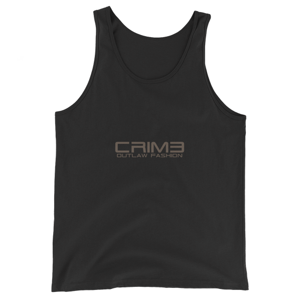 Crime Outlaw Fashion Unisex  Tank Top - hustleport