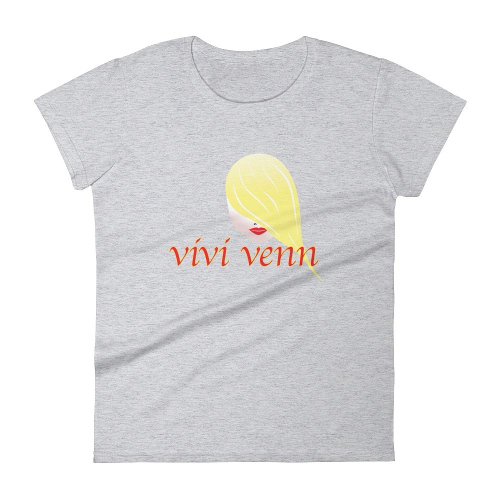 Women's short sleeve t-shirt Vivi Venn - hustleport