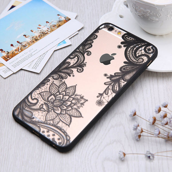 Mandala Case for iPhone 7 6 6S Plus - hustleport