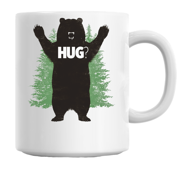 Bear Hug Mug - hustleport
