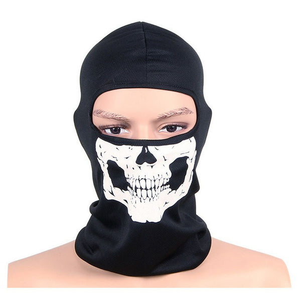 Cycling Protective Full Face Motorcycle Skull Mask - hustleport