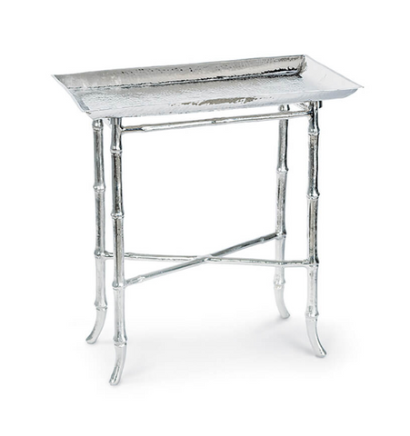 Bamboo Table (Polished Nickel)
