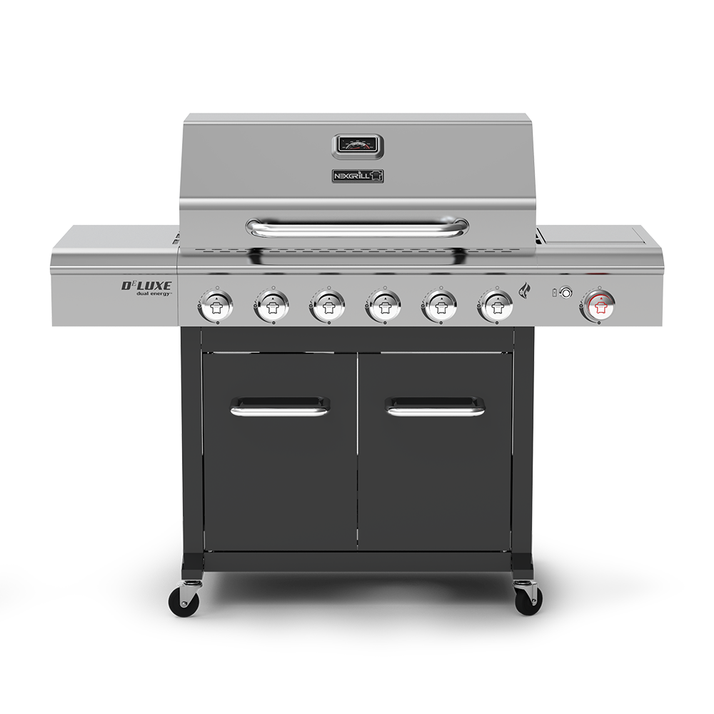 Deluxe 6-Burner Propane Grill with Side Burner