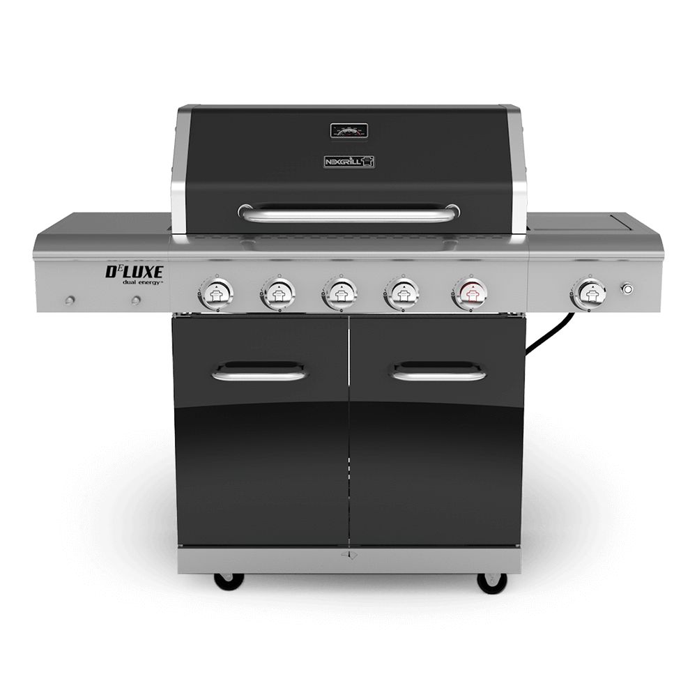 deluxe 5 burner gas grill