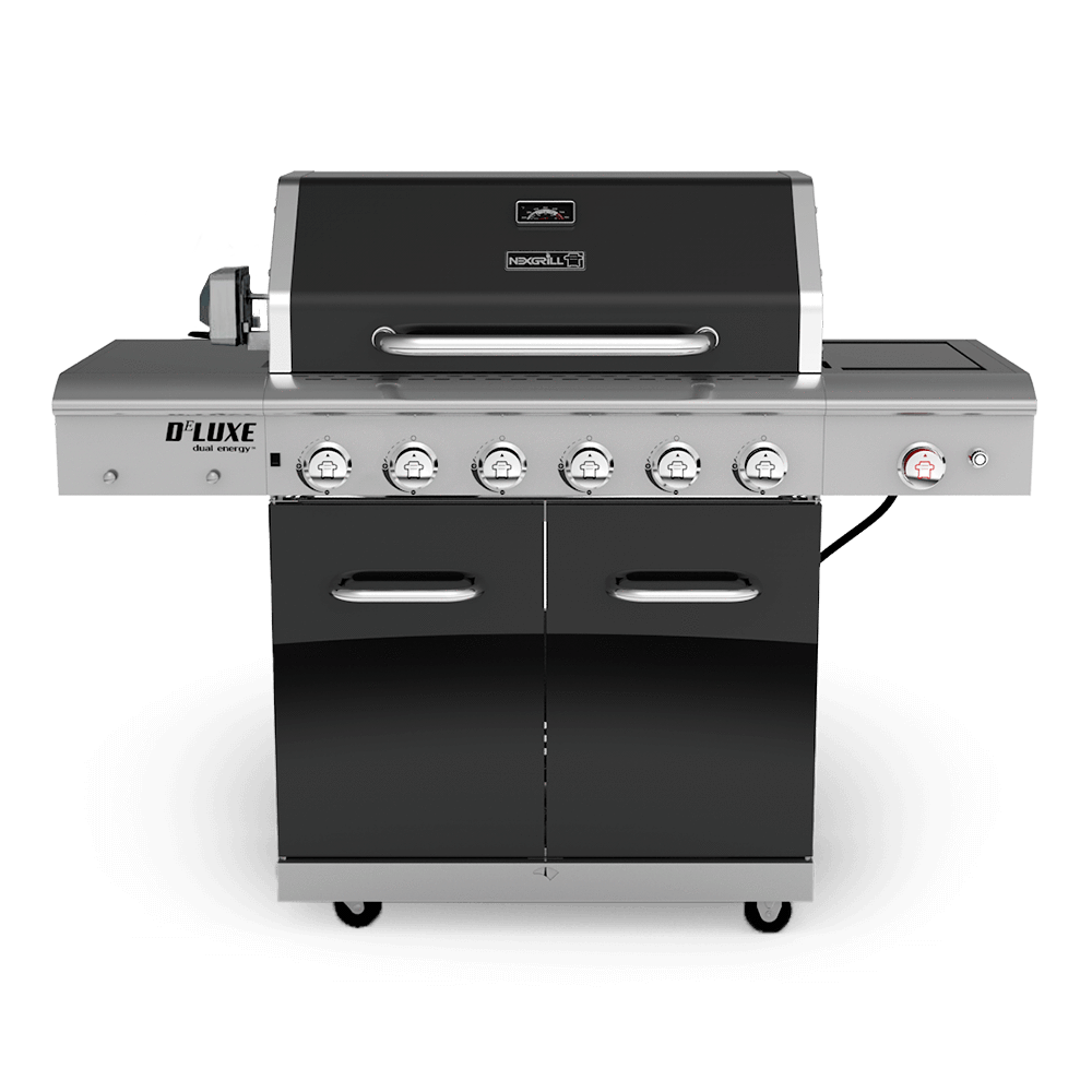 deluxe 6 burner gas grill