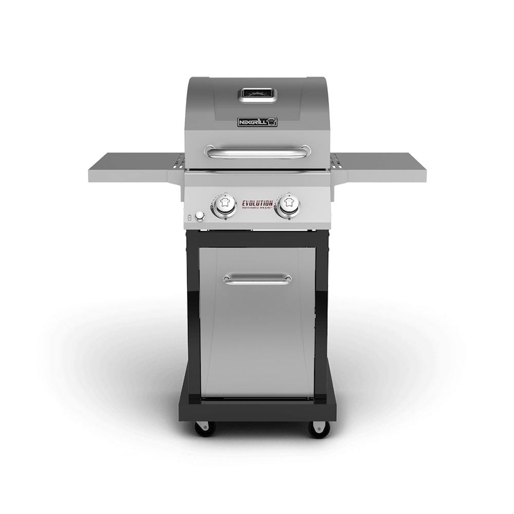 evolution 2 burner gas grill