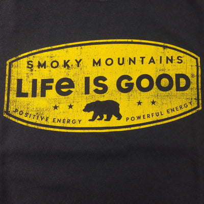 Mens Crusher Tee Smoky Mountains  Bear Shape (N63799-11)