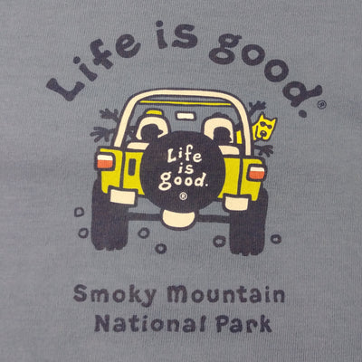 Mens Vintage Crusher Tee Smoky Mountain Atv (N63875-1)