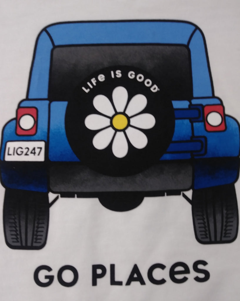 Womens Crusher Tee Go Places (74085)