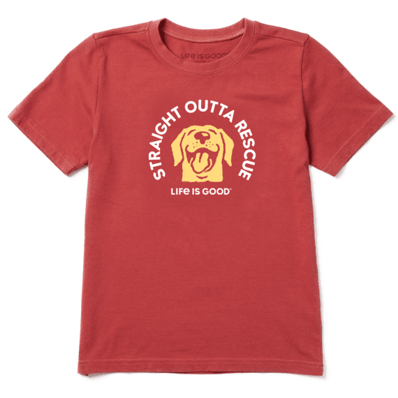 BOYS STRAIGHT OUTTA RESCUE CRUSHER TEE