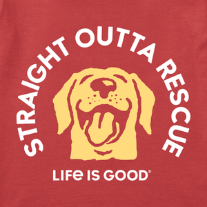 BOYS STRAIGHT OUTTA RESCUE CRUSHER TEE (62004)