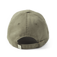 DENIM DAISY TATTERED CHILL CAP