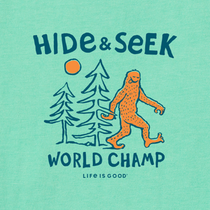 Kids Crusher Tee Hide and Seek Champion (69730)