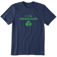 MEN'S I LIKE SHENANIGANS CRUSHER TEE (66815)