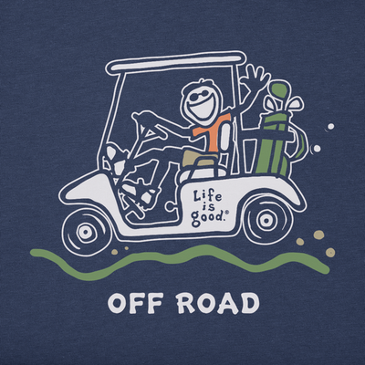 Mens Crusher Tee Jake Off Road Golf (75359)