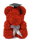 Graduation Rose Bear