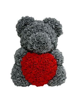 The Rose Bear with Red Heart *Valentine's Edition*