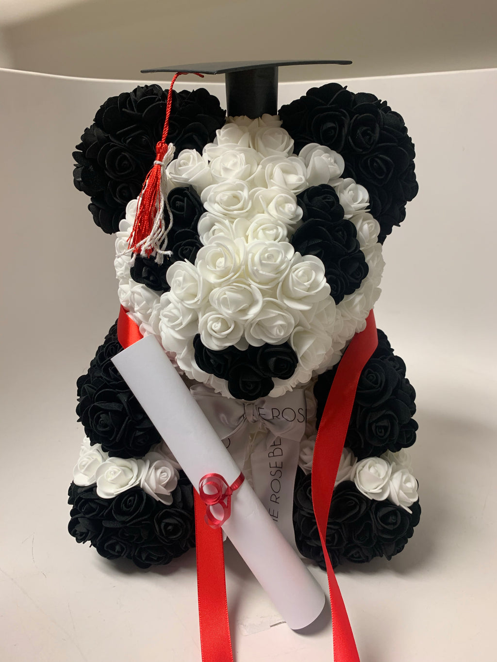 Custom Graduation Panda Bear Order