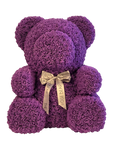 "Custom 27"" Extra Large Life-Size Purple Rose Bear"