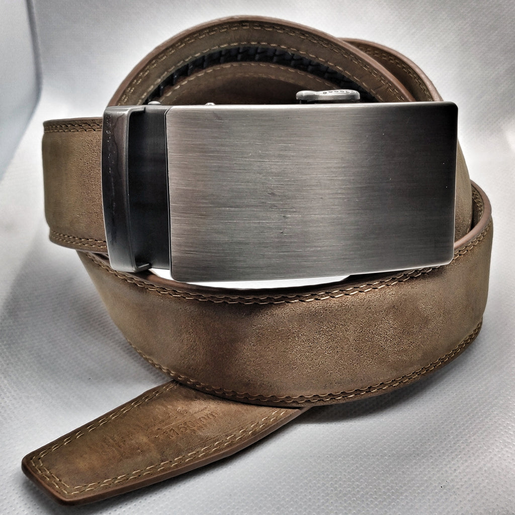 UB01 - The Unbuckled Belt - Brown