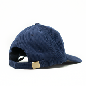 Corduroy Shield Logo Cap